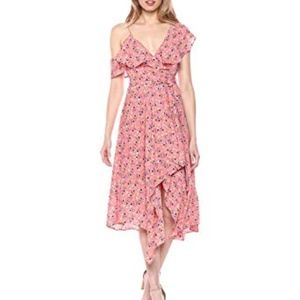 LIKELY Leilani Floral Printed Wrap Dress 10